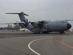 До Одеси завітав британський Airbus A400M