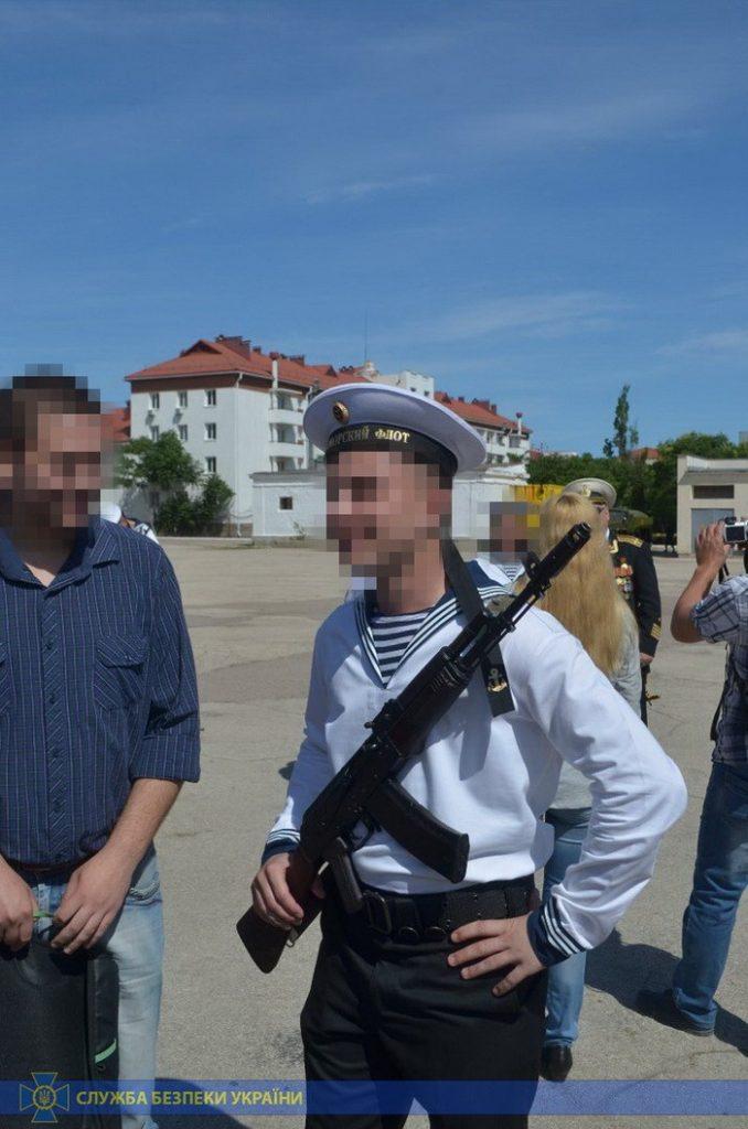 Затриманий під час присяги в російській армії