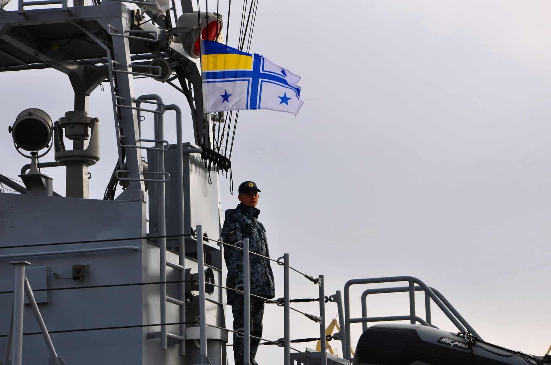 Під прапором Командувача ВМС ЗС України