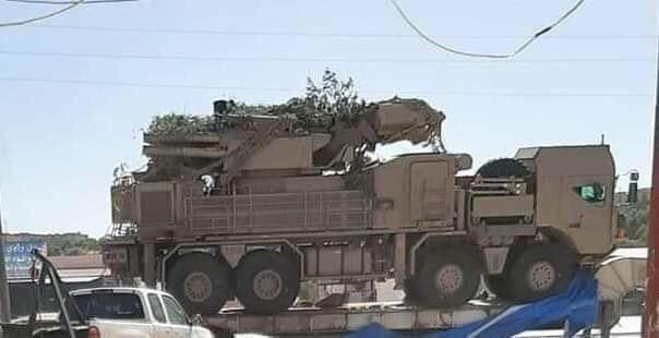 «Панцирь-С1Э» на шасі MAN у Лівії