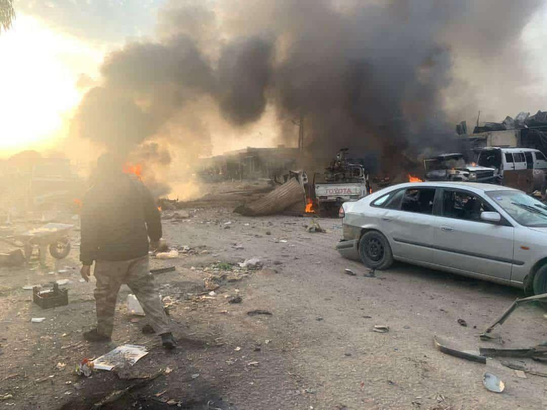«200ті» «іхтамнети» в Сирії та нові потужні російські бомбардування Ідлібу
