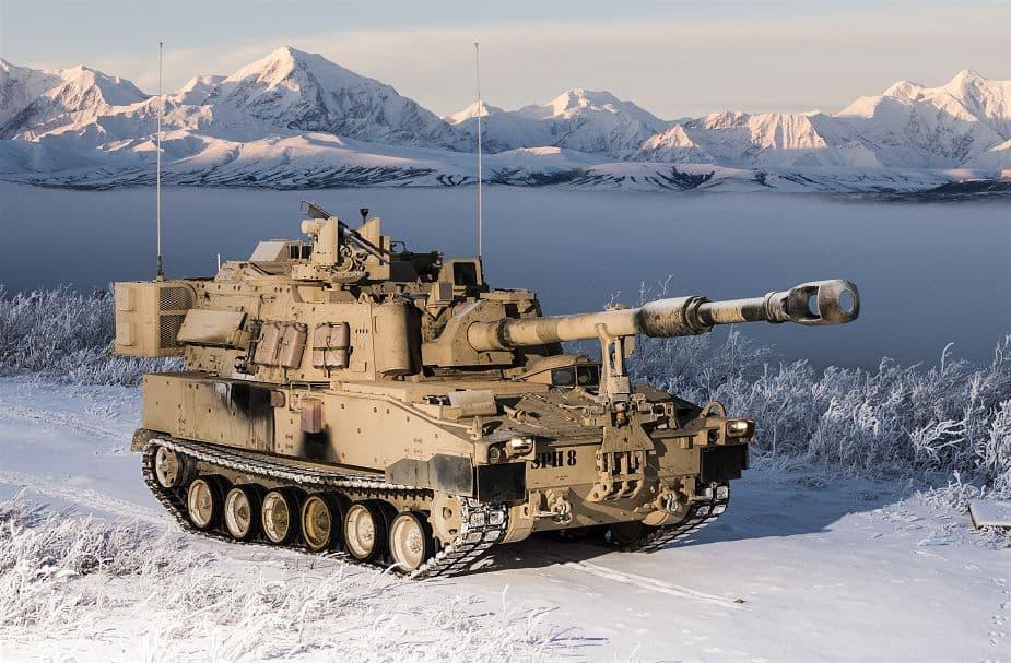 155-мм САУ M109A7