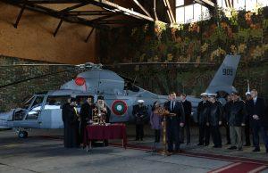 ВМС Болгарії отримали гелікоптер AS 365N3 «Dauphin»