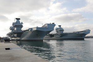 Королівський флот Британії поповнився новим авіаносцем