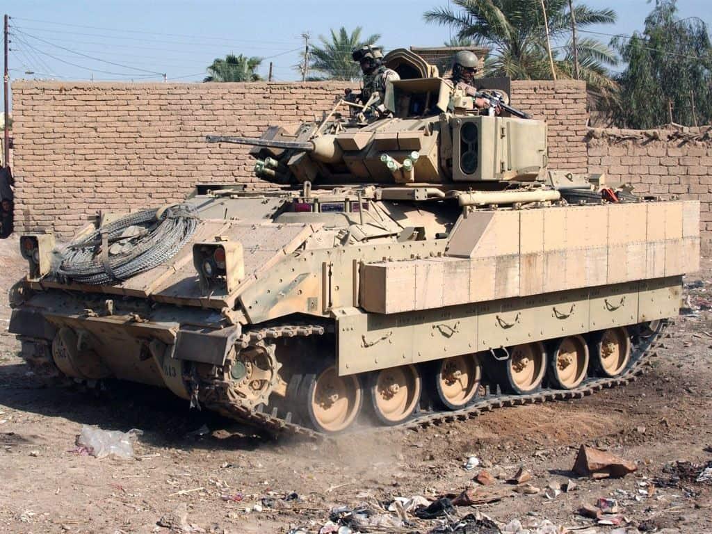 БМП M2A2 Bradley в Іраку