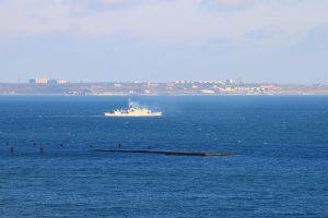 Французький корвет залишив одеський порт