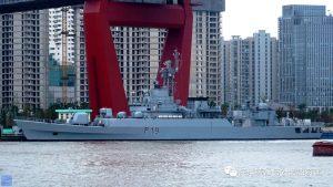 Китай передав Бангладешу два фрегати