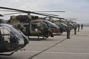 В Сербії презентували нові гелікоптери для армії