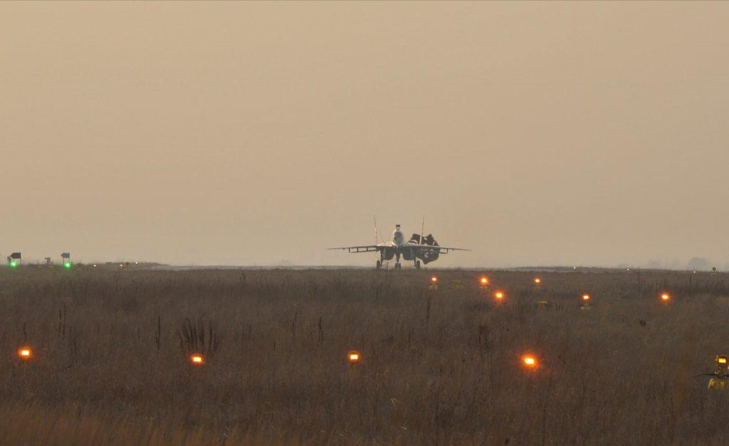 Капітально відремонтований МіГ-29УБ 20 грудня 2019 року