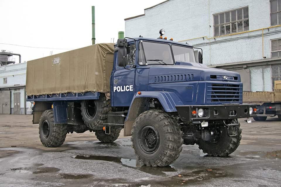 КрАЗ-5133ВЕ поліції Нігерії