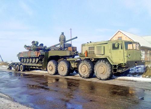 МАЗ-537 під час експлуатації у ЗСУ