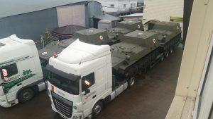 ЗСУ отримали партію броньованих медичних машин