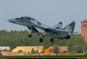 В Єгипті впав придбаний у Росії МіГ-29