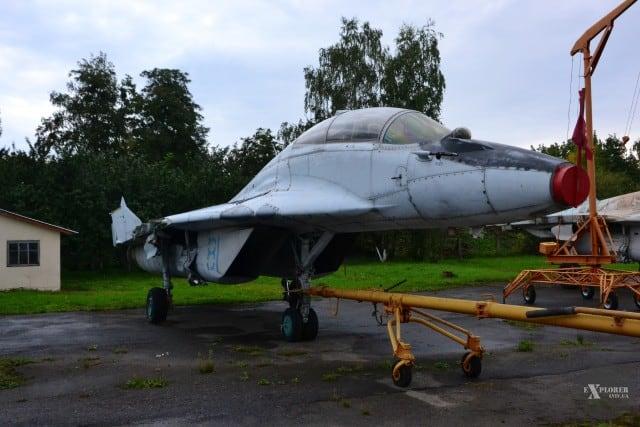МіГ-29УБ переданий 20 грудня 2019 року на зберіганні