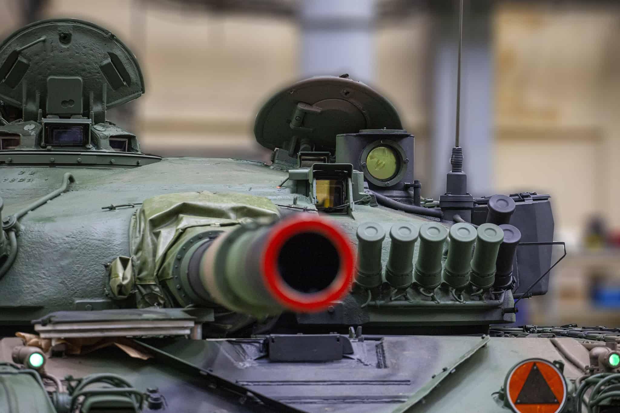 Модернізований польський танк Т-72М1 2