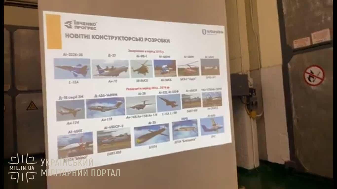 Новітні конструкторські розробки Івченко-Прогрес