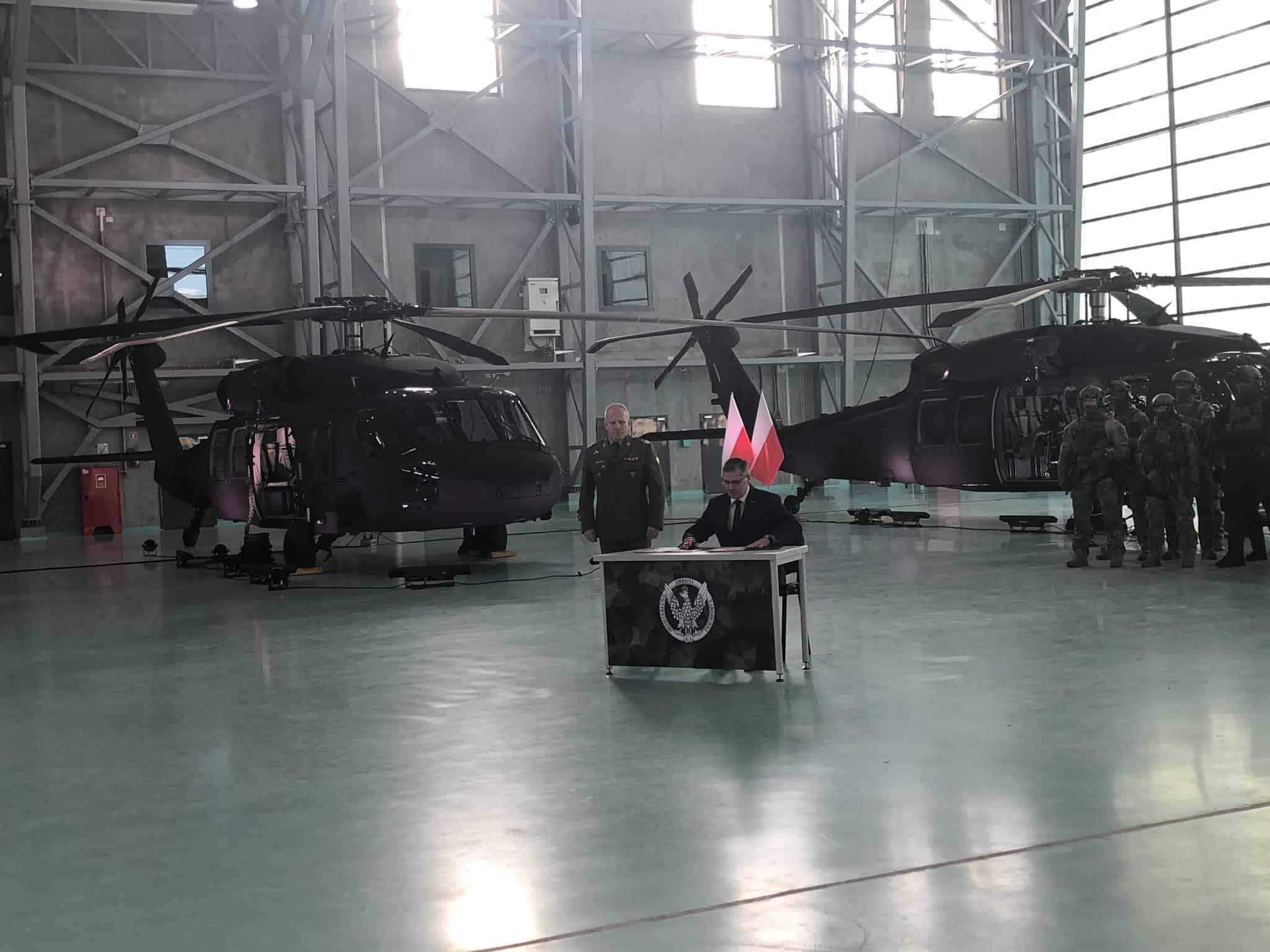 Польські ССО отримали Black Hawk