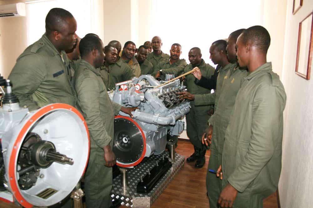 Підготовка нігерійських військових на КрАЗі