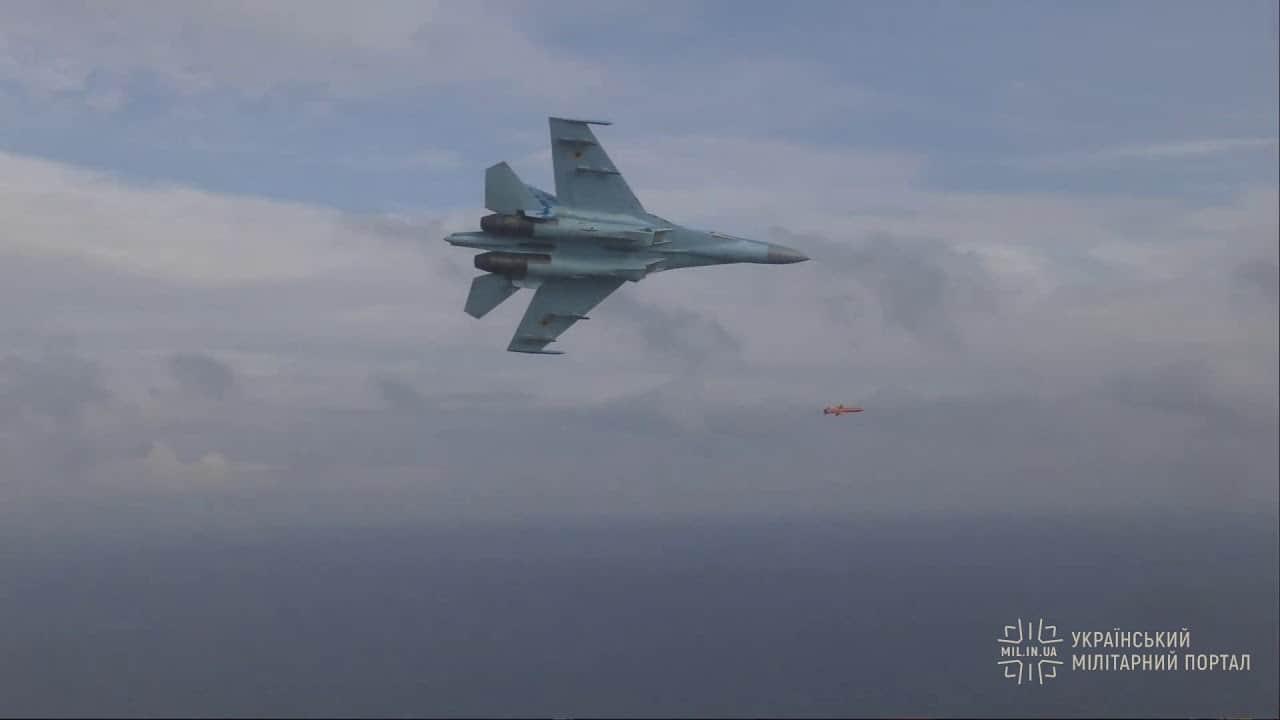 """З'явилось відео польоту ракети """"Нептун"""""""