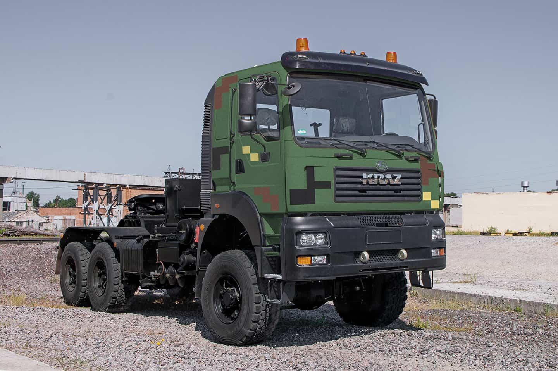 КрАЗ-6510 допущений до експлуатації у ЗСУ