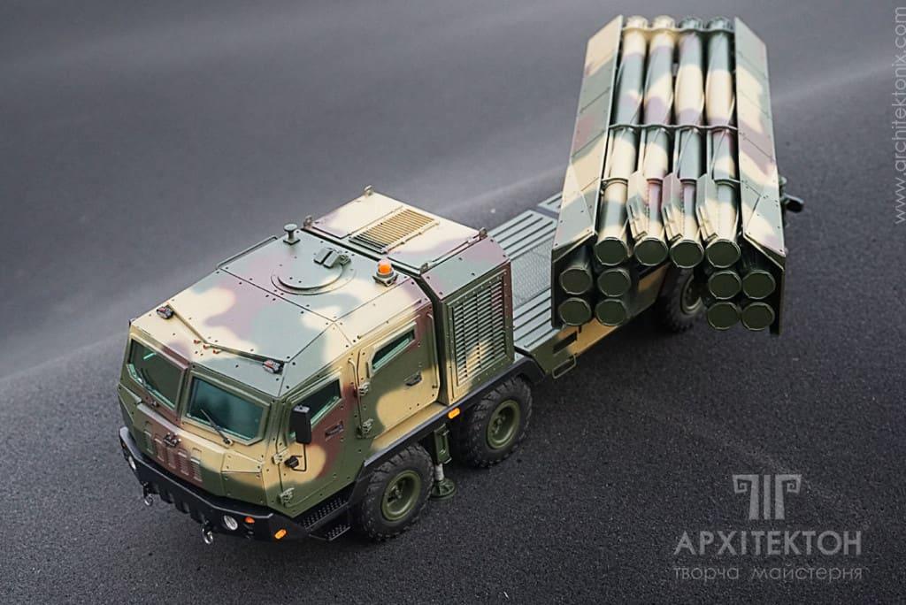 Пускова установка ракетного комплексу «Вільха»