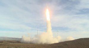 У США відбулись випробування балістичної ракети