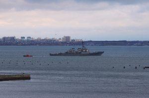 Есмінець США залишив одеський порт