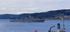 До Чорного моря увійшов російський крейсер