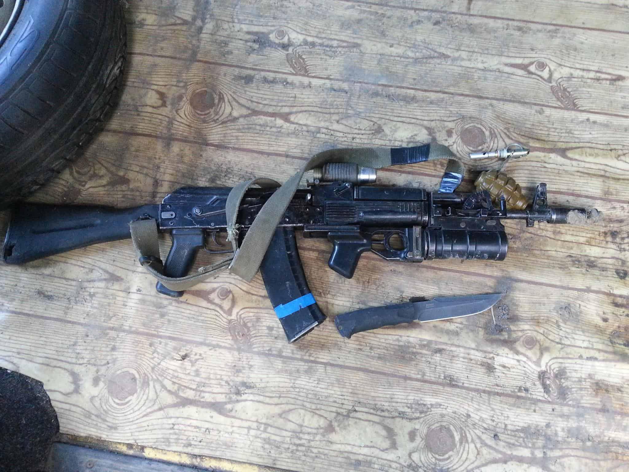 Трофейний АК-74М