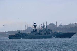 До Чорного моря увійшов російський есмінець