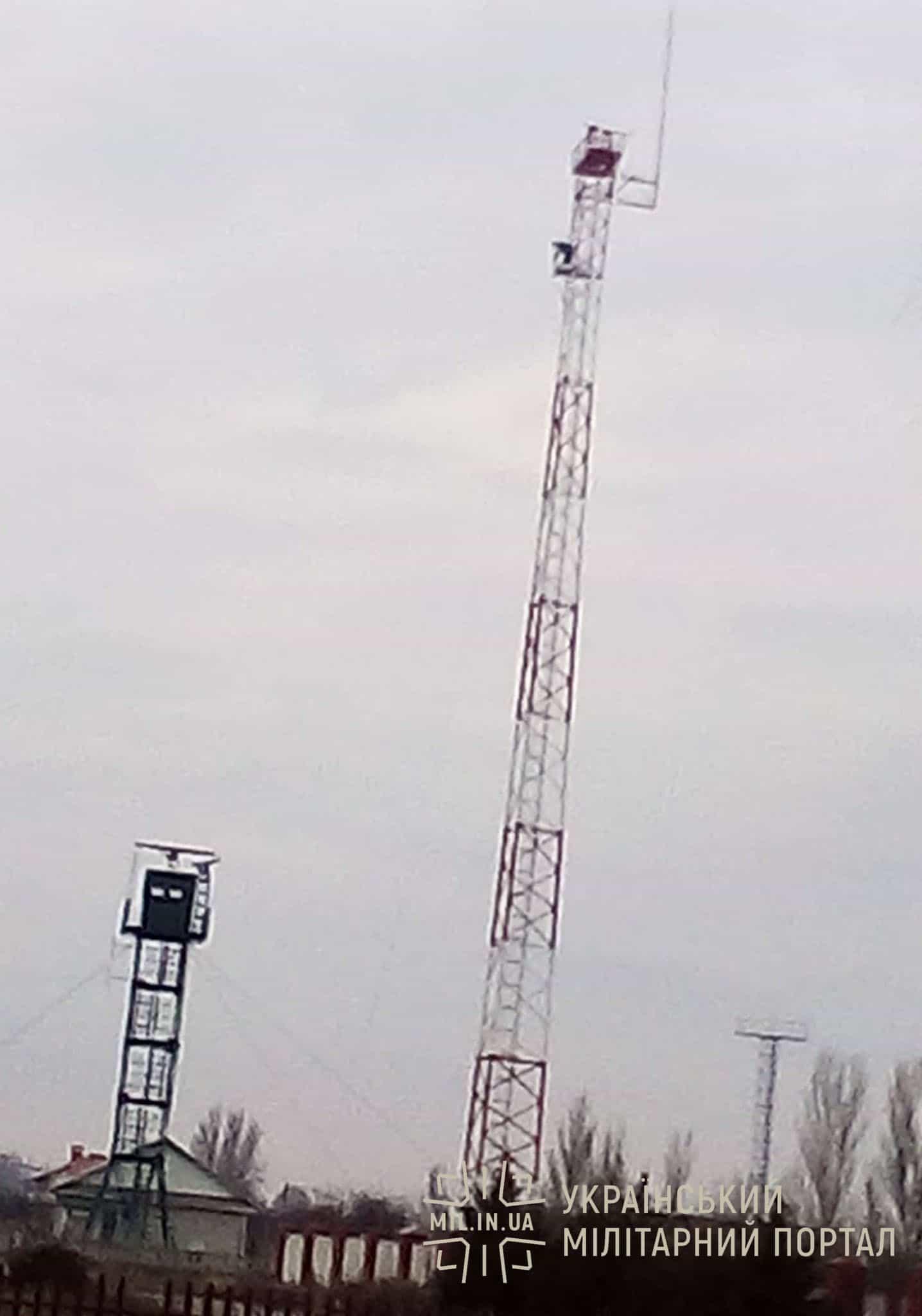 Вежа технічого посту у Скадовську