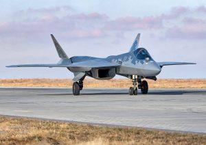 В Росії впав перший серійний Су-57
