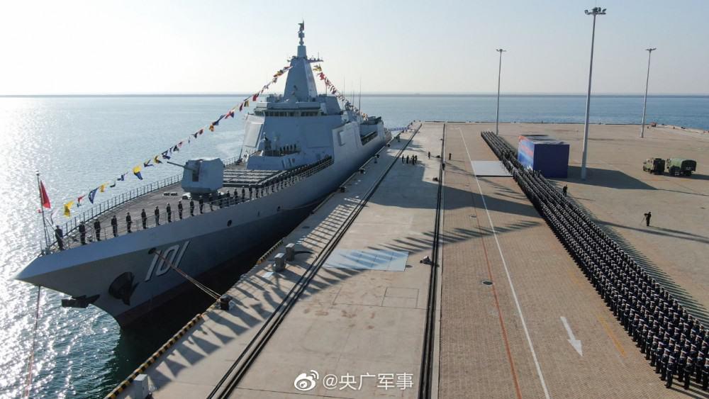 ВМС Китаю ввели до строю головний есмінець проекту 055