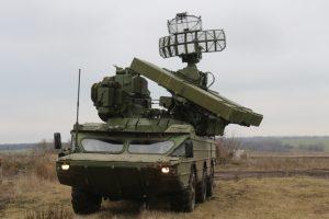 Розрахунки ЗРК «Оса» тренувались на Донбасі