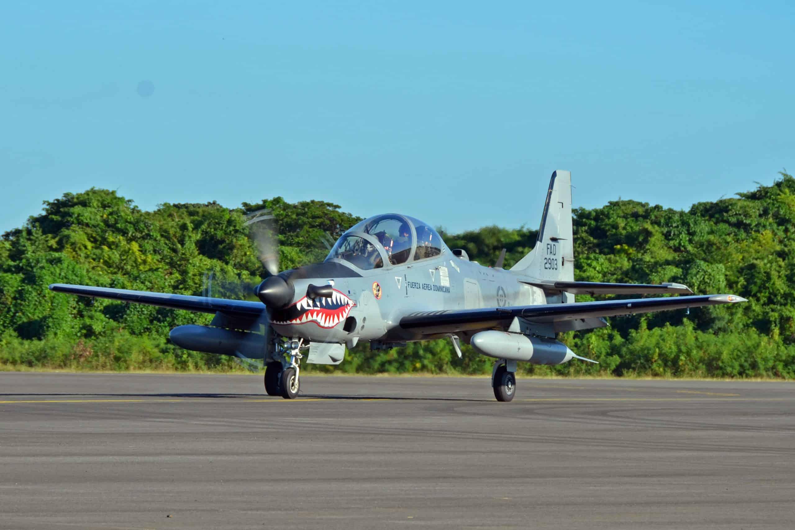 A-29 Super Tucano Домініканської Республіки
