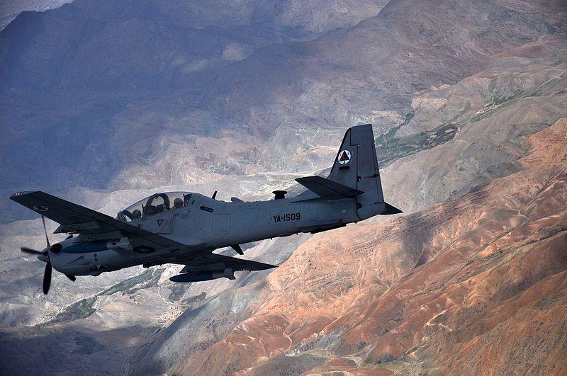 A-29 Super Tucano (EMB 314) Повітряних Сил Афганістану