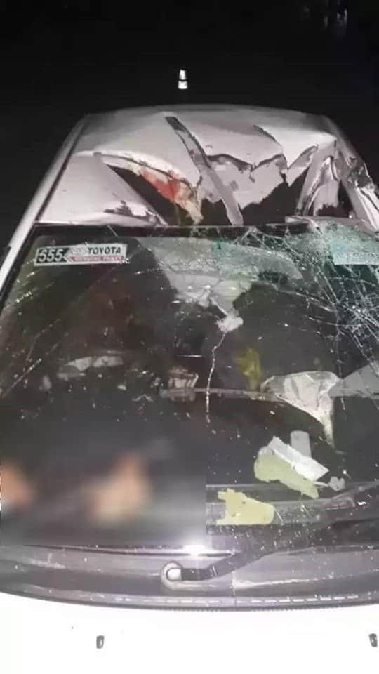 Автомобіль одного з лідерів Талібану після авіаудару