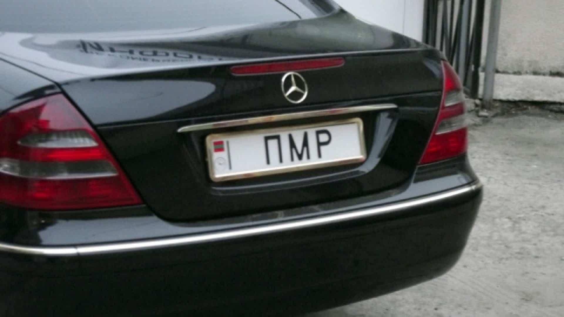 """Молдова обмежила рух автомобілів з номерами """"ПМР"""""""