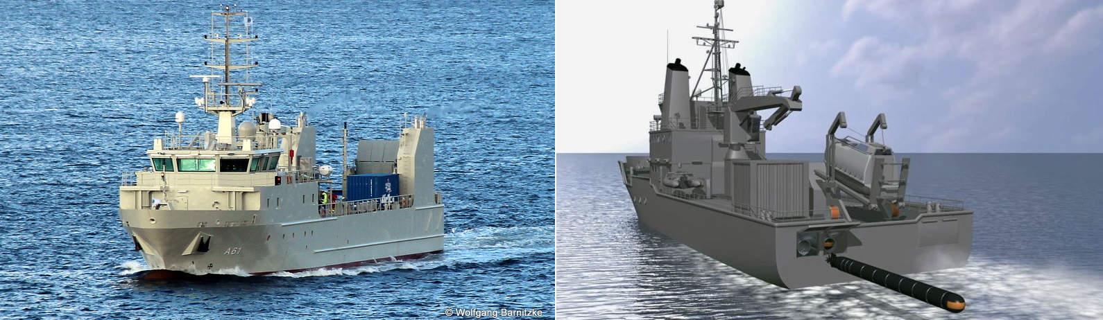 Багатоцільовий корабель ОАЕ UAES Rmah (A61)