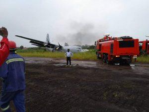 В Конго сталась аварія літака C-130