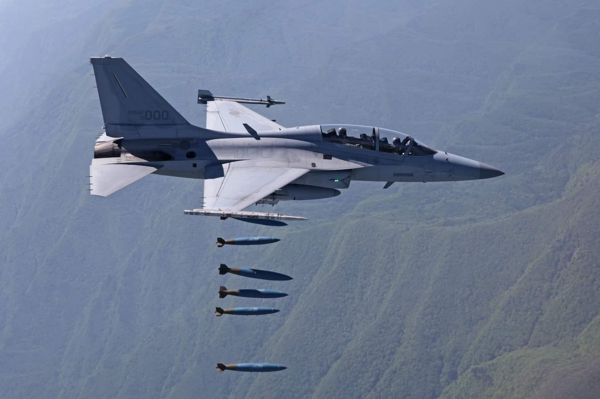 Південно-корейські літаки T-50 та FA-50
