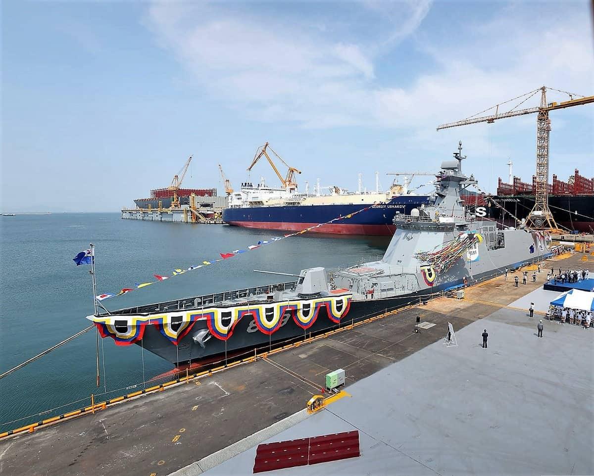 Фрегат ВМС Південної Кореї ROKS Gyeongnam (FFG-819)