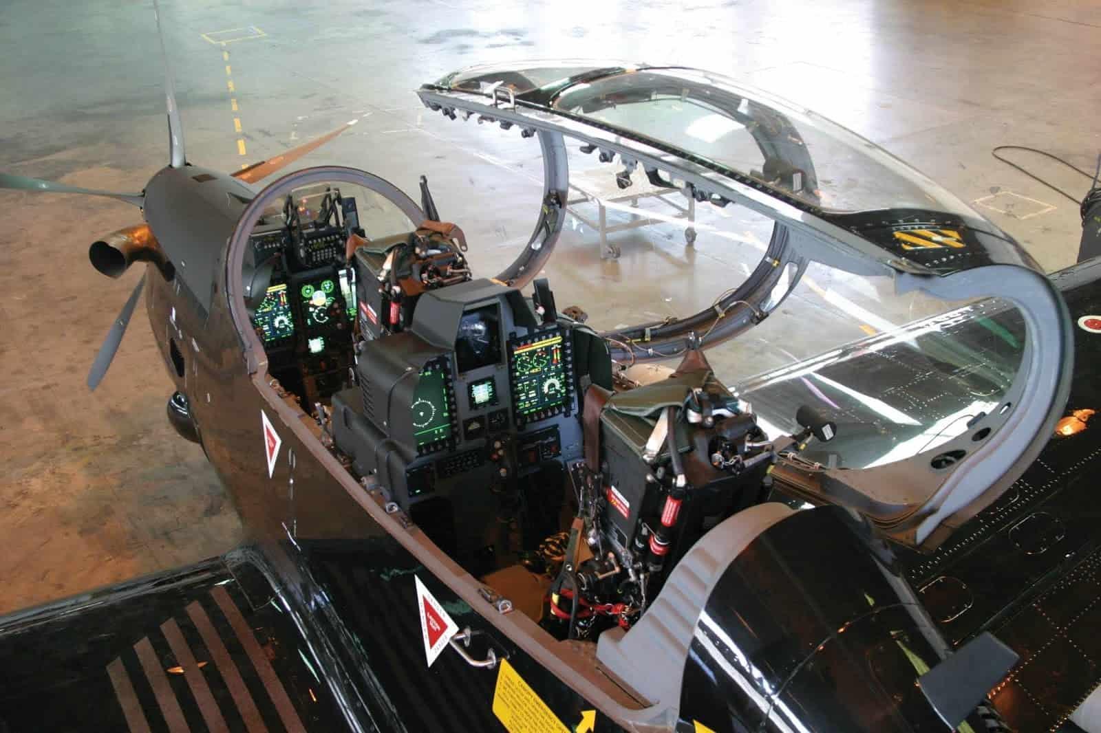 Кокпіт A-29 Super Tucano (EMB 314)
