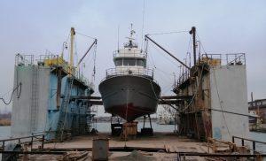 Завершено доковий ремонт корабля «Онікс»