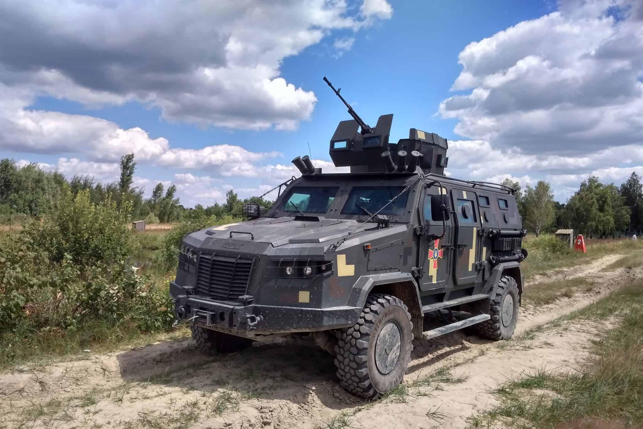 «Козак-2М1» під час державних випробувань