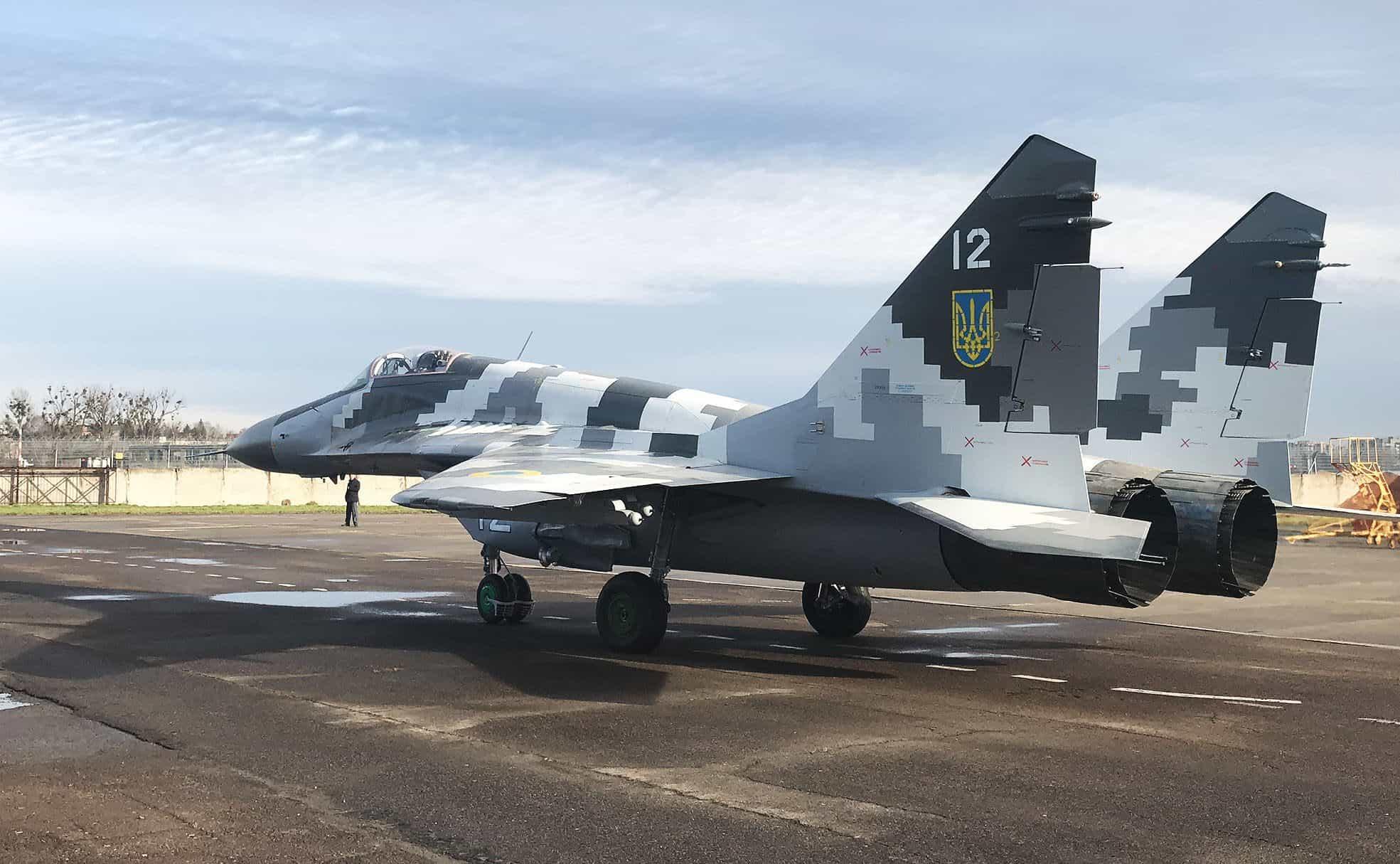МіГ-29МУ2 в грудні 2019 року під час випробувань