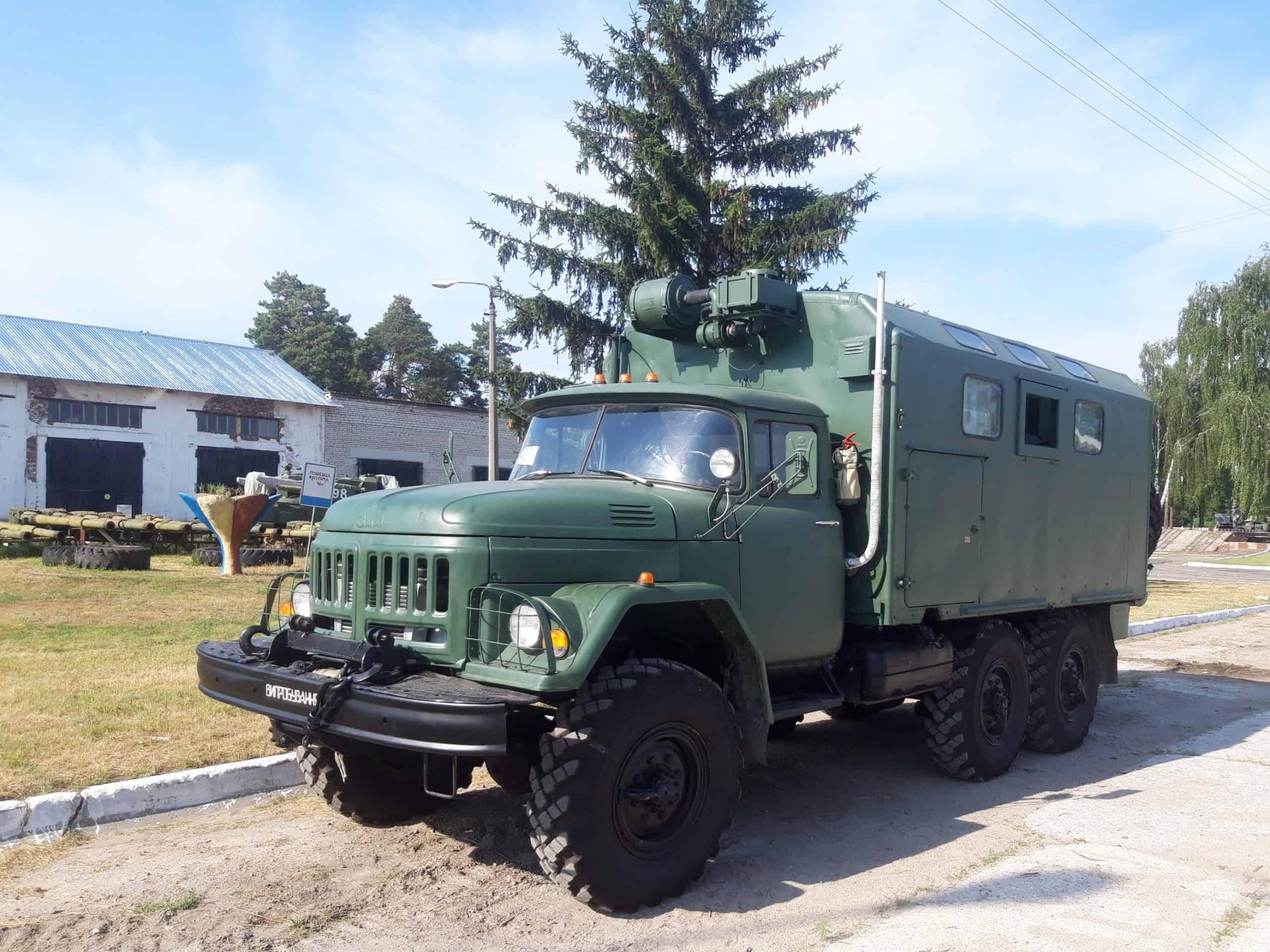 Модернізована танкоремонтна майстерня ТРМ-80.