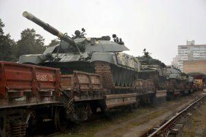 До ЗСУ відвантажено партію модернізованих Т-72