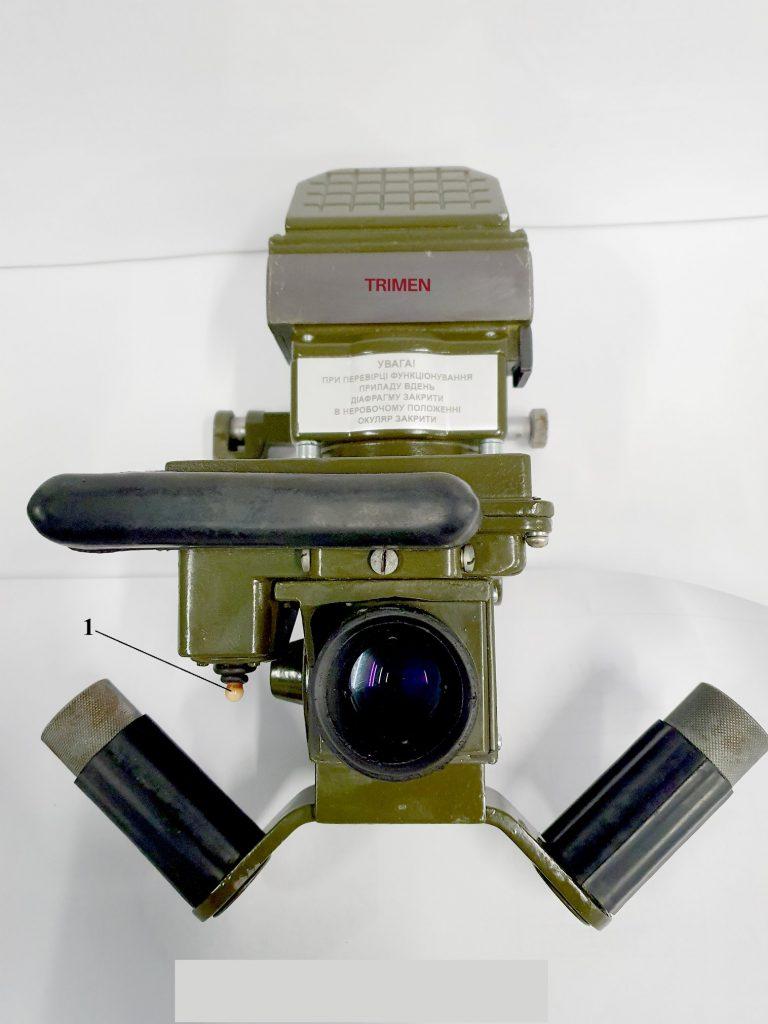 Модернізований оптичний прилад ТКН-1ЕТ