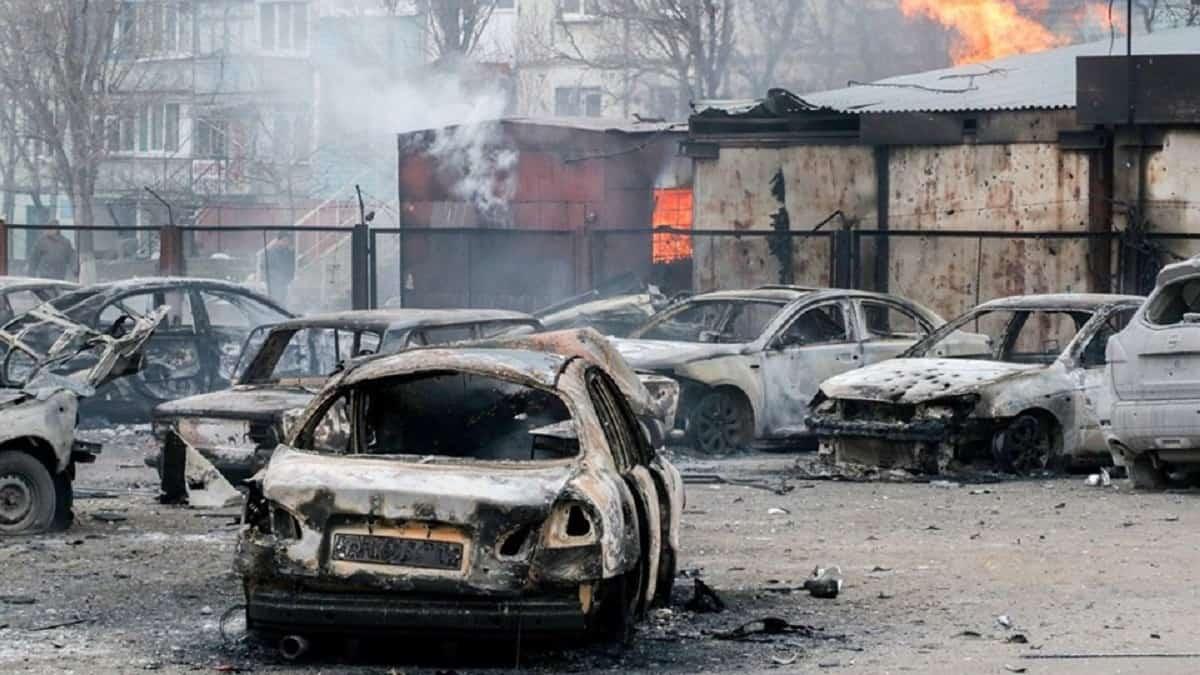 Наслідки обстрілу Маріуполя 24 січня 2015 року